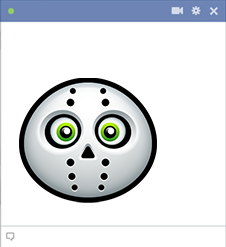 Jason Voorhees Emoticon Facebook