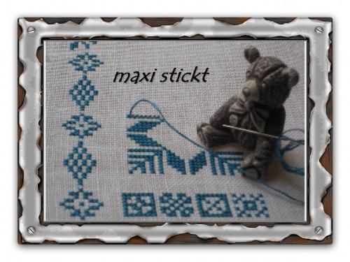 maxi stickt