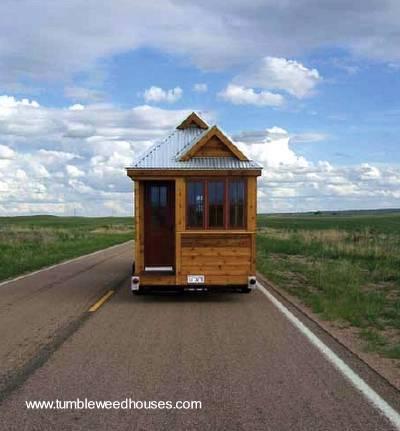 Modelo de Tiny house americana