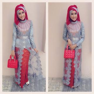 Kebaya Syari Hijab Muslim Modifikasi trendbajukebaya.com