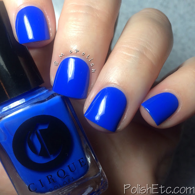 Cirque Colors - Nordstrom exclusive Poolside Collection - McPolish - Santorini