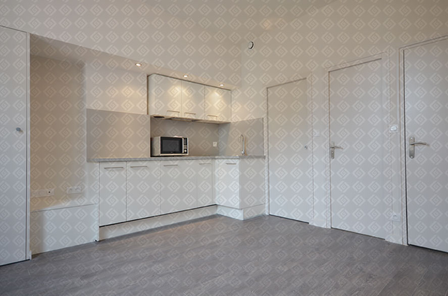 rive gauche r novation cr ation d 39 un studio rue germain 69006 lyon. Black Bedroom Furniture Sets. Home Design Ideas