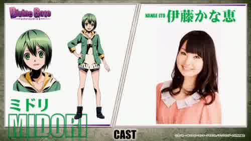 Kanae Itō sebagai Midori