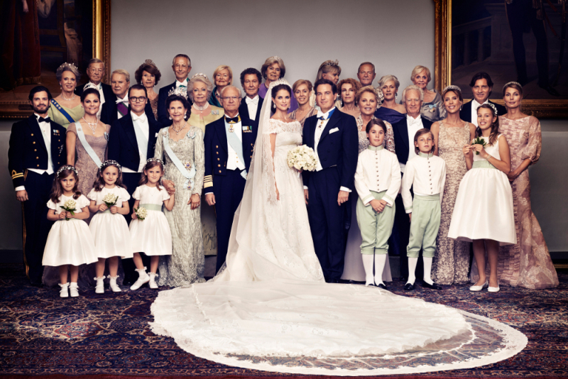 ROYAL COUTURE.....Wedding of Princess Madeleine of Sweden: Valentino ...