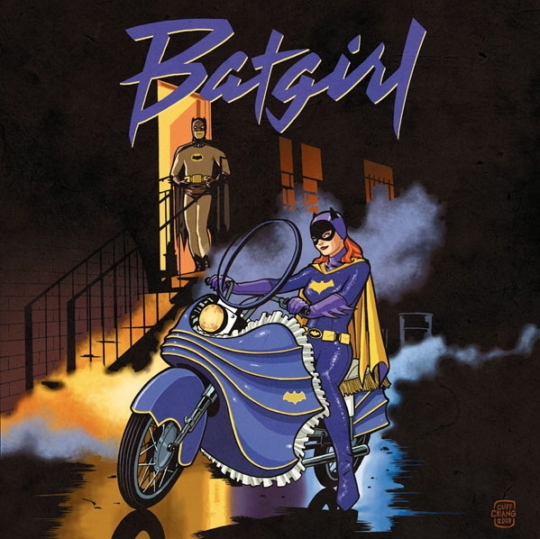 Purple Rain - Bat Girl