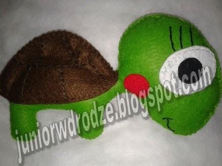 Maskotka z filcu - Żółw