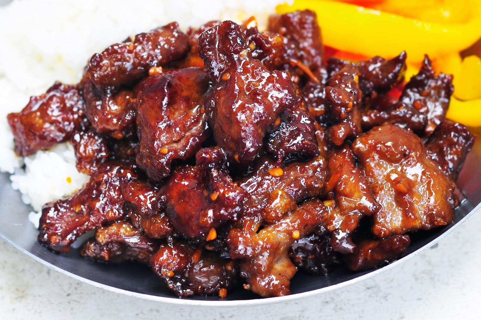 Simply Gourmet: Crispy Orange Beef