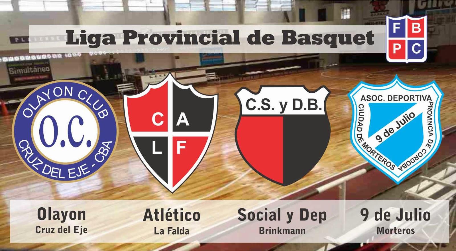 La liga de Córdoba se viste de Rojo y Negro