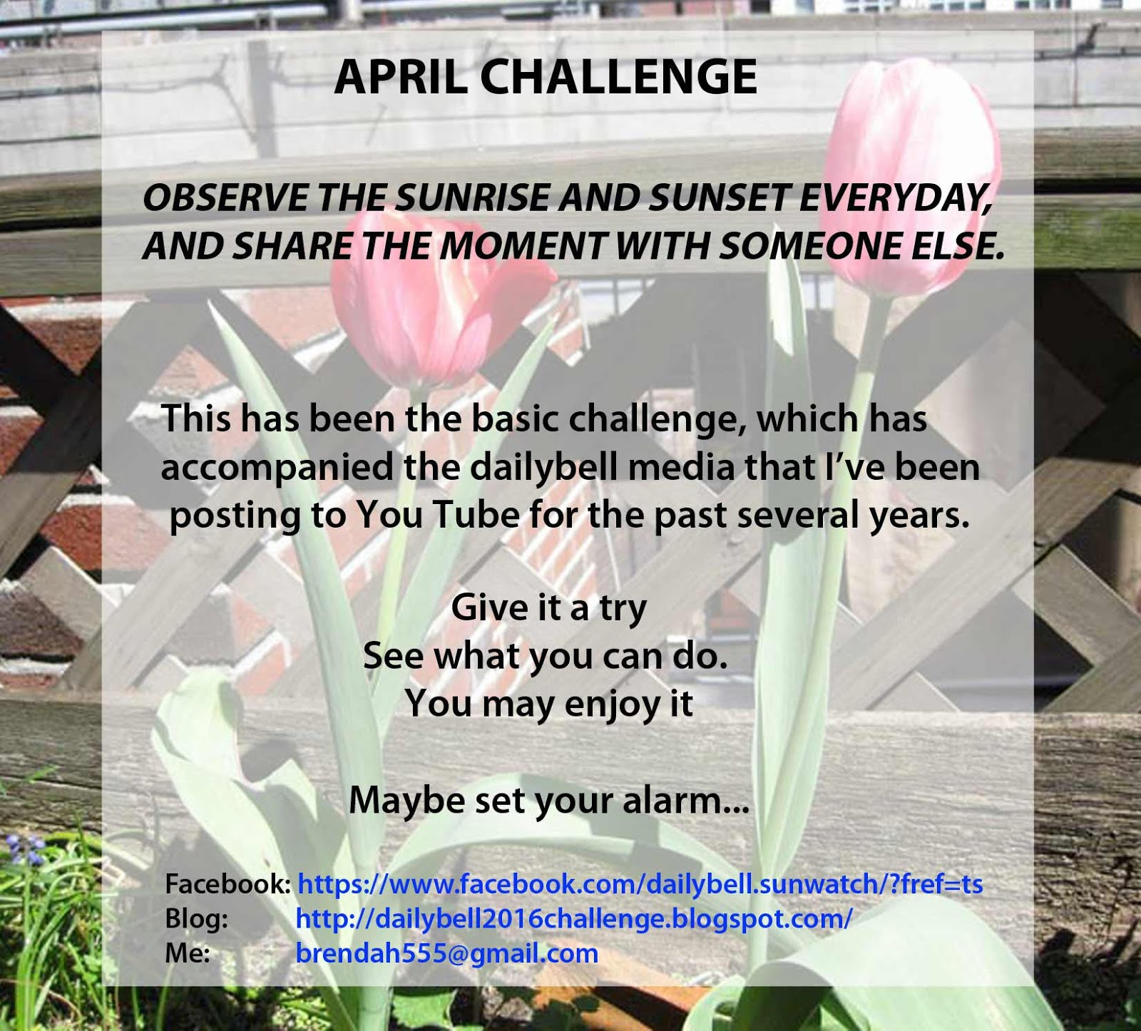 APRIL Challenge 2016