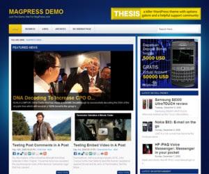 Clevine WordPress Theme