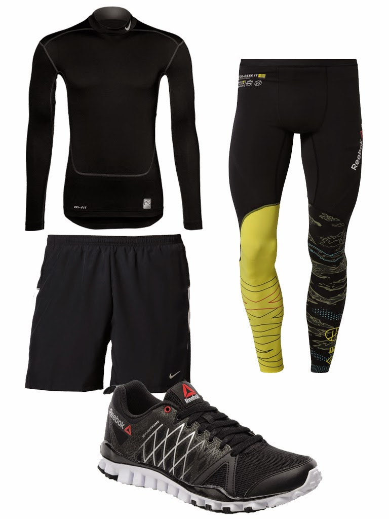tenue homme fitness