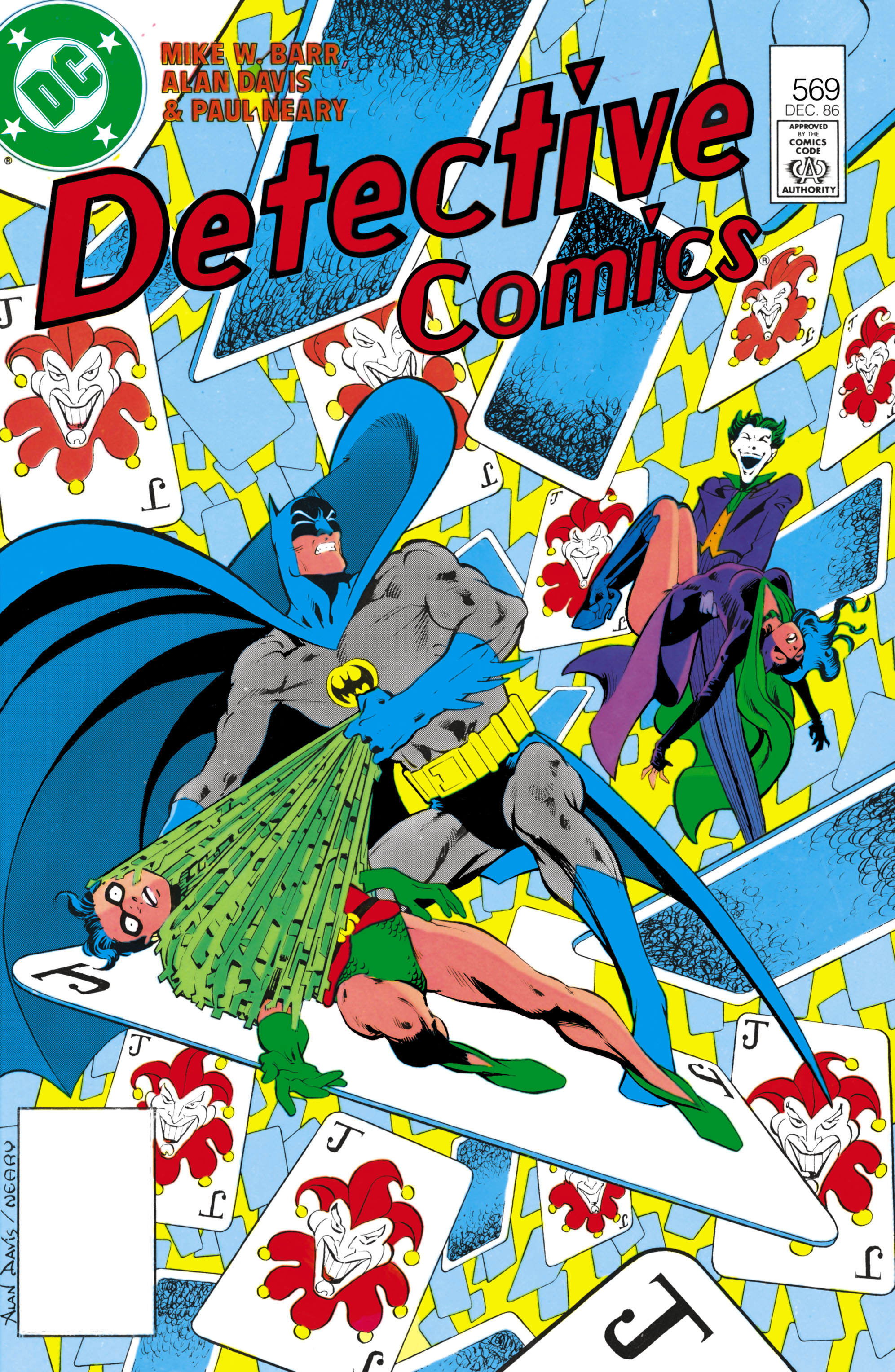 Detective Comics (1937) Issue #569 Page 1