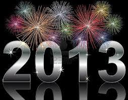 Felicitar 2013 Fuegos Artificiales