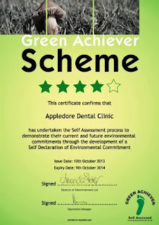 dentist milton keynes gains green achiever status for another year