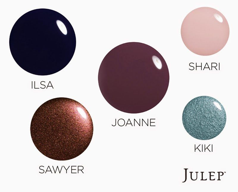 Nailing That Winter Manicure: Julep's Top Winter Colors