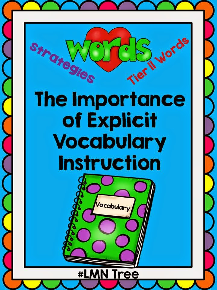 Lmn Tree The Importance Of Explicit Vocabulary Instruction
