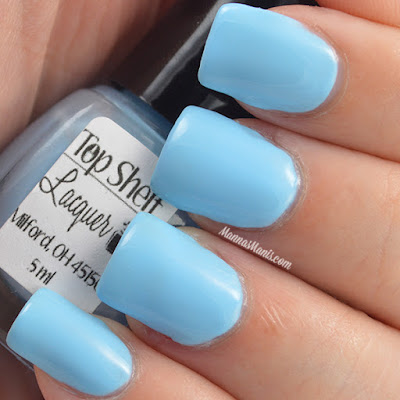 Top Shelf Lacquer Blue Russian swatches