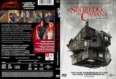 Filme O Segredo da Cabana DVD Capa