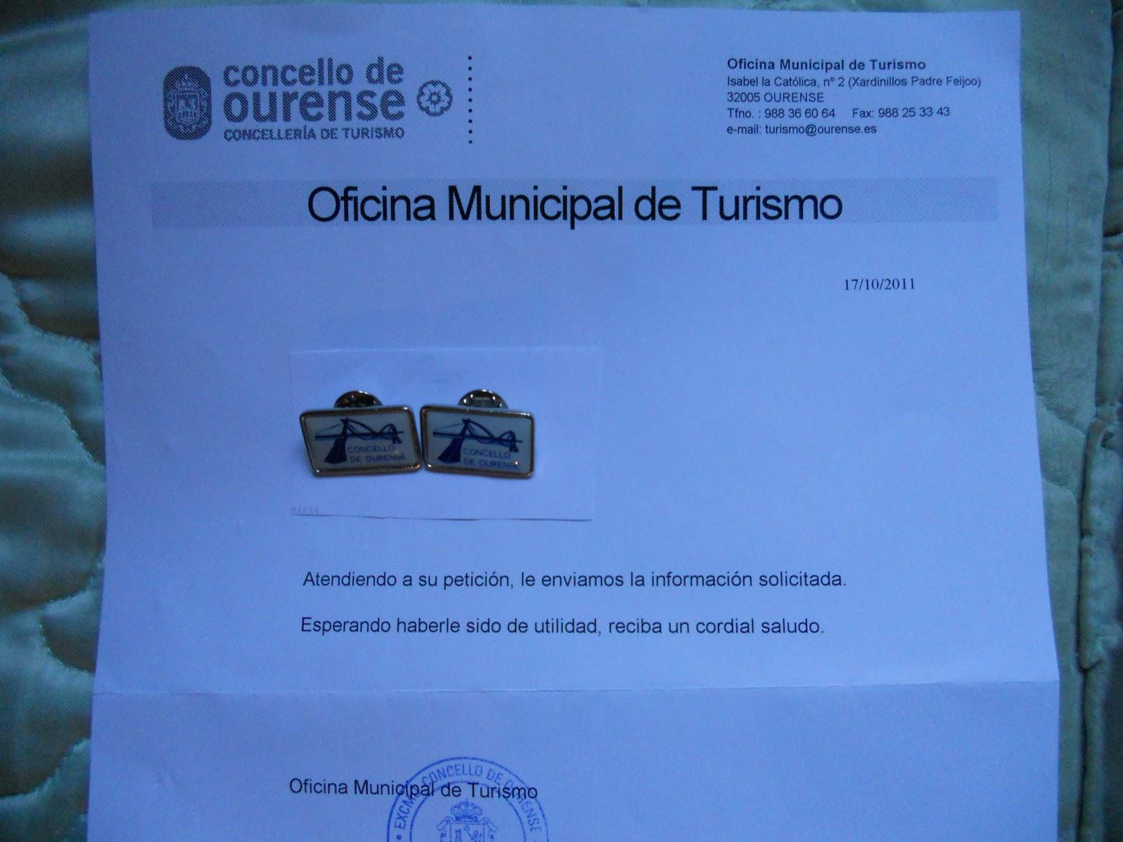 Pinspalomo pueblos de ourense galicia for Oficina correos ourense