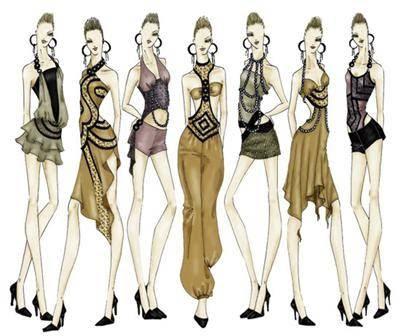 fashion design sketches fashion design
