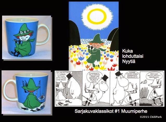 Moomin mug, Snufkin