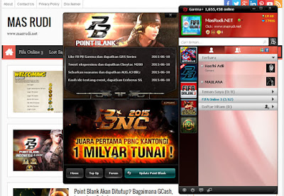 Point Blank (PB) Garena Indonesia Patch Terbaru
