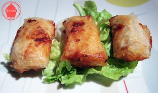 nems de poulet croustillant