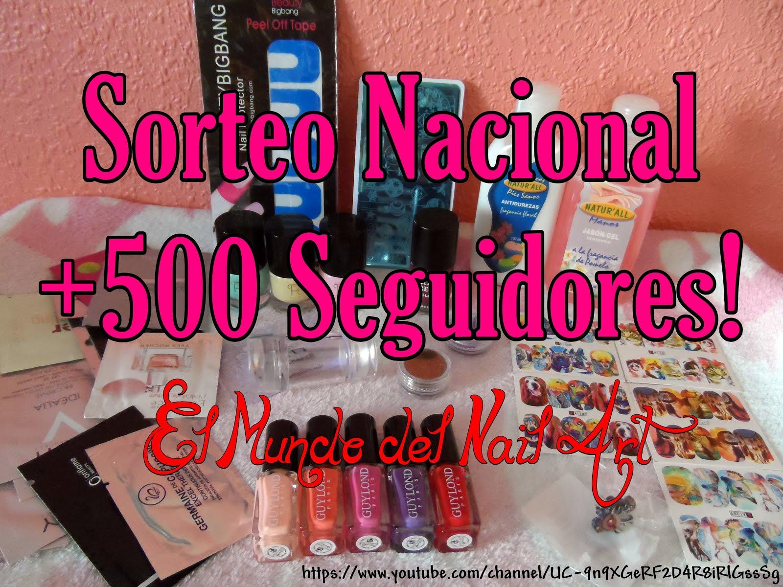 Sorteo +500 Seguidores en YouTube!
