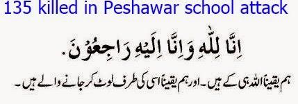 135 killed in Peshawar