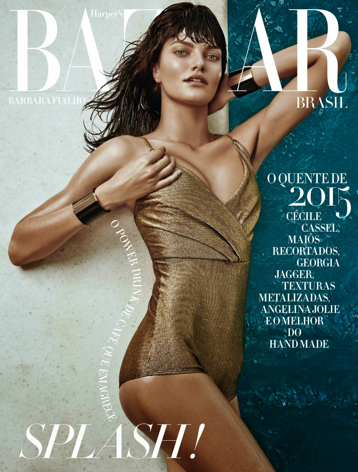 Model: Barbara Fialho by Fabio Bartelt for Harper's Bazaar, Brazil