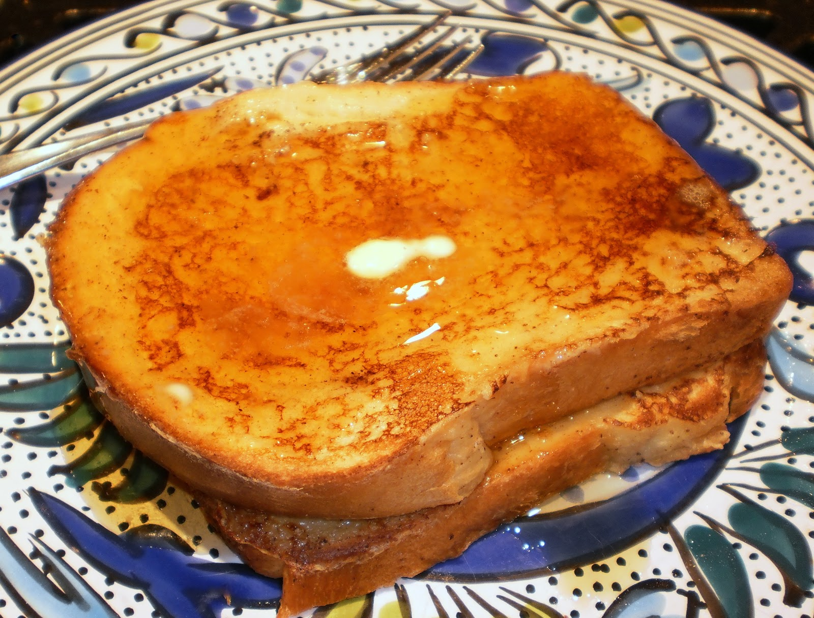 french toast with butter and maple syrup my goal when making french ...