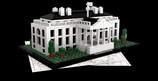 Architecture Diagrams Galleries: Lego Architecture White House