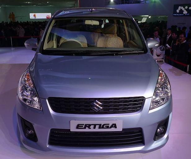 2013 Suzuki Ertiga To Come in India About March And To Introduce in Indonesia About April