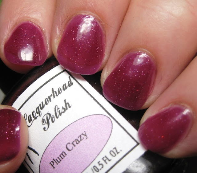 Lacquerhead Polish Plum Crazy