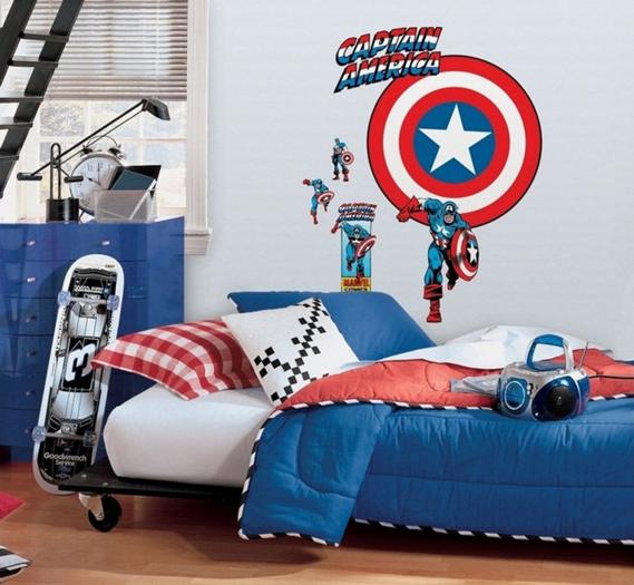 Fotos de Dormitorios Súper Héroes  Decoración Dormitorios y