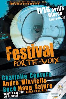 Festival Porte Voix à Oloron   du 11 au 15 Avril 2012