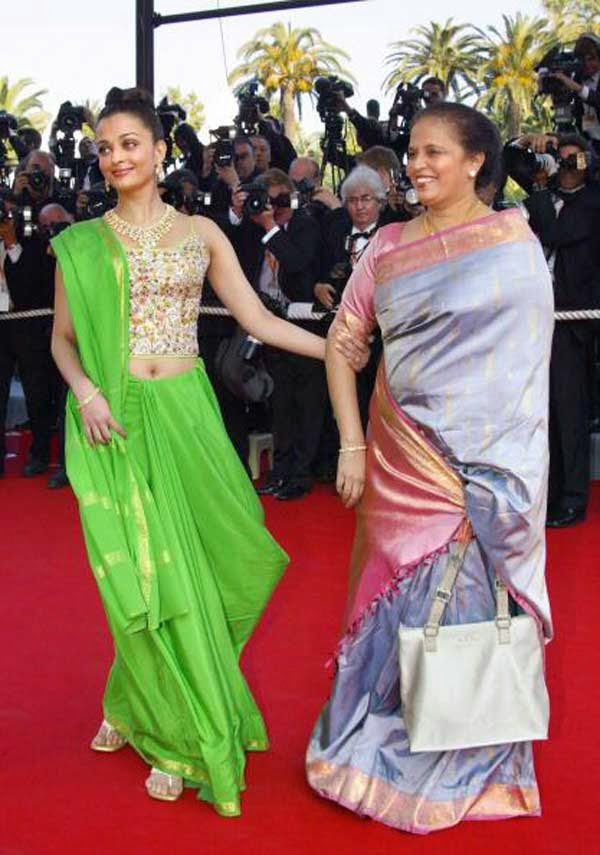 Aishwarya Rai Bachchan at 56th Cannes film festival in 2003