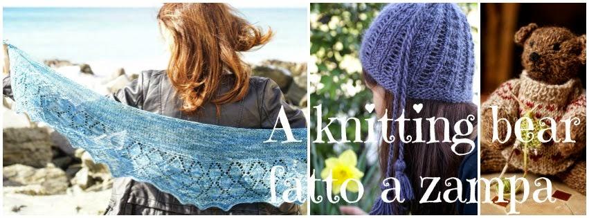 a knitting bear...