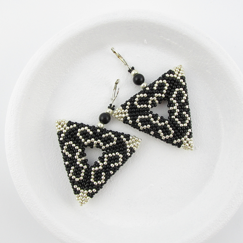 triangles earrings