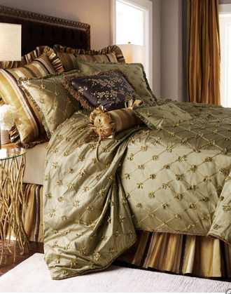 My Red Herring: Obsession of the Day: Opulent bedding