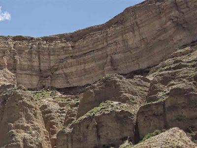 estratos sedimentarios - jujuy