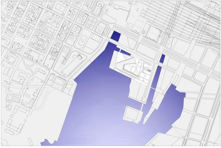 مخططات مشروع دار أوبرا أوسلو بالنرويج  Site