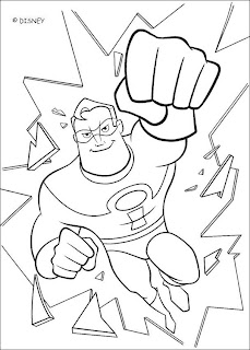 The Incredible Coloring Pages