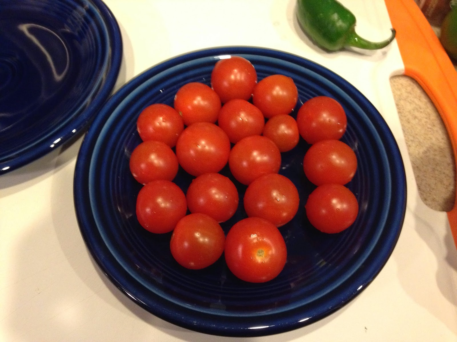The Paleo Review Tomato Salad with Jalapeo Vinaigrette from Make