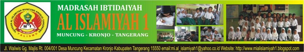 MI AL -ISLAMIYAH 1 MUNCUNG