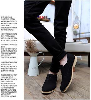 sepatu cowok korea model terbaru