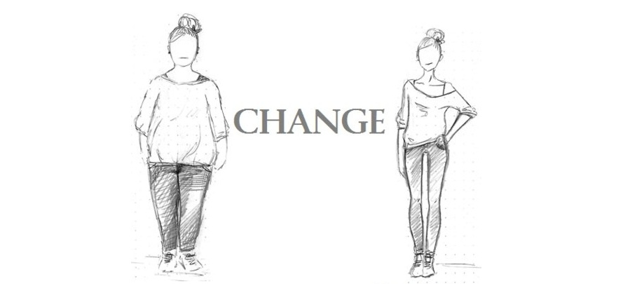 - Change