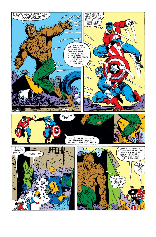 Captain America (1968) Issue #343 #273 - English 3
