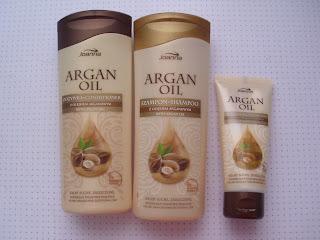 Arganowe Trio z Joanny- czyli pachnąco i pielęgnująco :)