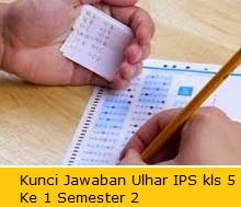 Kunci Jawaban Soal Ulangan Harian Ke 1 IPS Kelas 5 SD Semester 2/Genap
